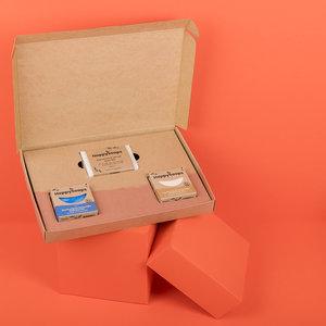 Happy Soaps Plasticvrije Verzorging Giftbox – Tropical Sensation Medium