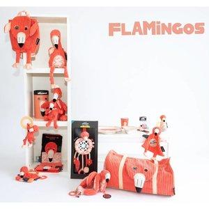 Les Déglingos Activiteitenrammelaar Flamingo's de flamingo