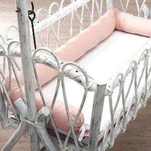 nordic coast company Pink bed bumper / Hoofdbeschermer