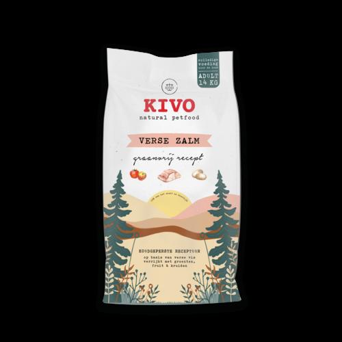 Kivo Verse Zalm graanvrij - Koud geperst