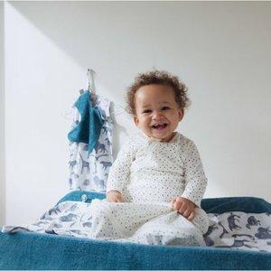 Snoozebaby Comfort Toy Bird Blanket - Storm Blue