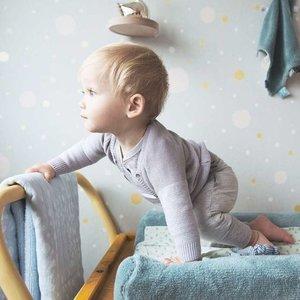 Snoozebaby Comfort Toy Sweet dreaming Blanket - Grey Mist