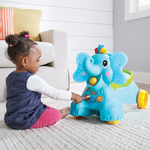Infantino Sensory 3 in 1 Ride on Elephant