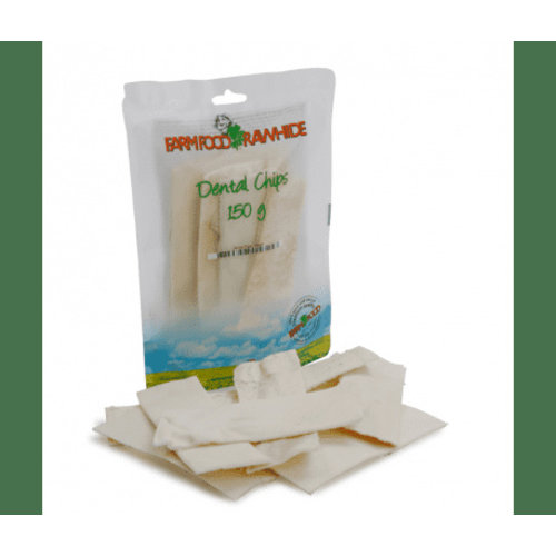 FarmFood Rawhide Dental Chips S (150gr)