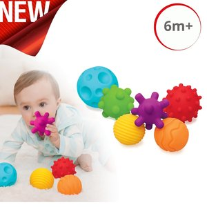 Infantino Sensory Multi Ball Set Speelballetjes
