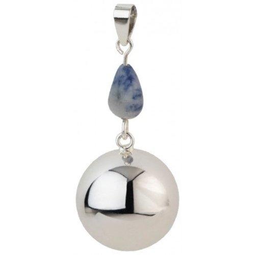 Babylonia Bola Silvergrey-Bluegrey stone