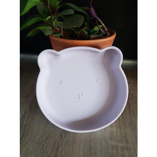 BoJungle B-Suction Plate Bord met zuignap - Pink