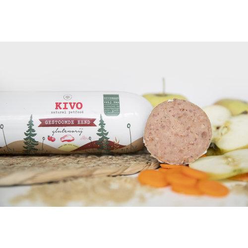 Kivo Gestoomde worst - Eend | glutenvrij