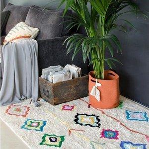 Lorena Canals Kaarol vloerkleed - 170 x 240 cm - Collectie morocco
