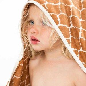 Witlof for Kids Badcape / omslagdoek Once upon a dream Hazel brown