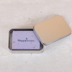 Happy Soaps Body Bar bewaar- en reisblikje