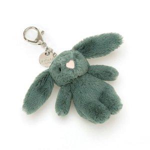 Jellycat  Bashful Bunny Bag Charm Sleutelhanger - Forest