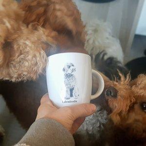 Paper Dreams Koffiemok Labradoodle Dog mug