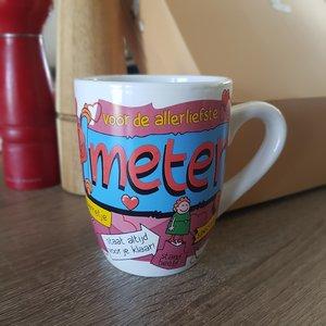 Paper Dreams Koffiemok Cartoonmok  Meter (peettante)