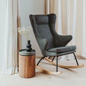 Quax Rocking Chair Adult -  De Luxe - Black