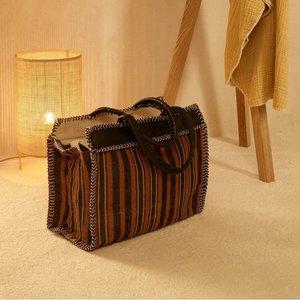 Quax Mom's Bag - Rust & Black - Handgemaakte luiertas