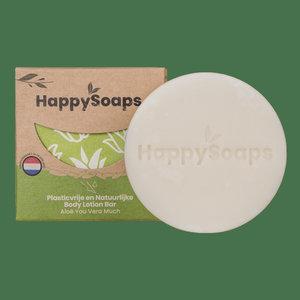 Happy Soaps Happy Body Lotion Bar – Aloe You Vera Much