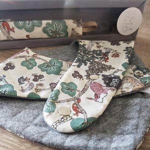 FRIGG Luxe Cadeauset Fopspeenkoord / Bandana Doe a Deer