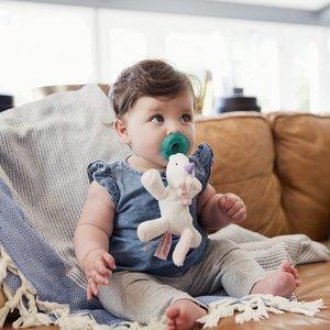 WubbaNub Speen met Speenknuffel  Baby Unicorn