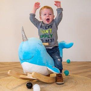 Tryco Rocking chair Narwal Nino de walvis