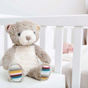 Zazu Baby Sleep Shusher - Heartbeat Knuffel met Geluid  -  BRUNO