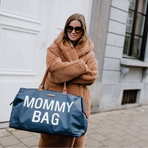 ChildHome Mommy bag zeer grote verzorgingstas Zwart - Goud