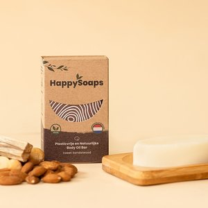 Happy Soaps Happy Body Oil Bar – Sweet Sandalwood