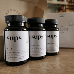 Sups All in One bundel for mums - Rise+Revive+Balance