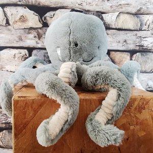 Jellycat  Knuffel Octopus 23cm Odell Octopus Medium - Groen