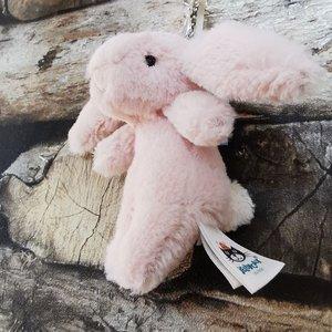 Jellycat  Bashful Bunny Bag Charm Sleutelhanger - Blush