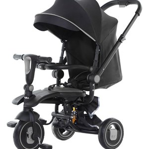 tryco Spark opvouwbare driewieler - Tricycle - Black/Black