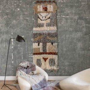 Lorena Canals 100% pure wol - Woolable Rug Kachina 90 x 240