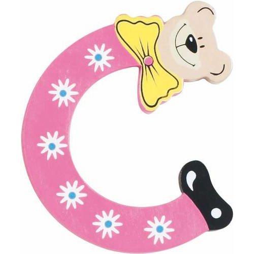 Playshoes De letter C houten plakletter beer