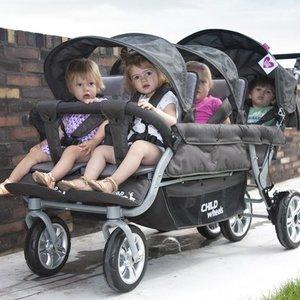 Childwheels Sixseater wandelwagen voor 6 kinderen - NIEUW MODEL!!