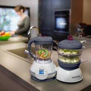 Babymoov Nutribaby Cherry keukenrobot met grote inhoud!