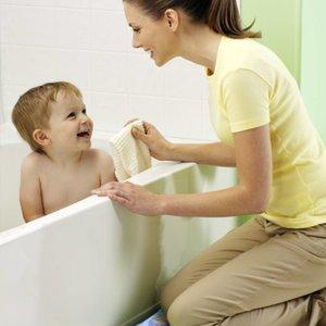 RF badmat voor moeders