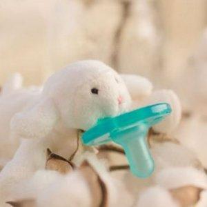 WubbaNub Speen met Speenknuffel Lammetje