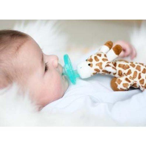WubbaNub Speen met Speenknuffel Giraffe
