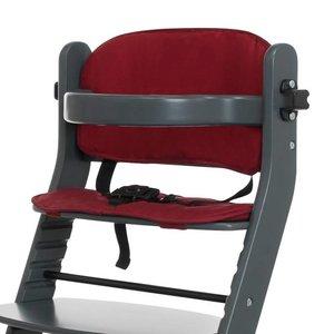 Kussentje voor Kinderstoel - Rood