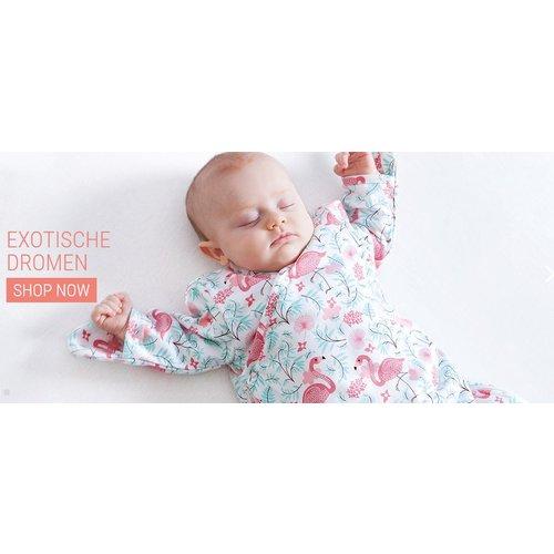 BeMiNi  Babypakje Flamingo Morea 3-6m
