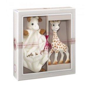 Sophie de Giraf - Vulli Sophiesticated Sophie de Giraffe met Speendoekje in cadeauverpakking