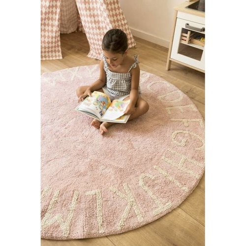 Lorena Canals Round ABC Vintage Nude - Natural Pink