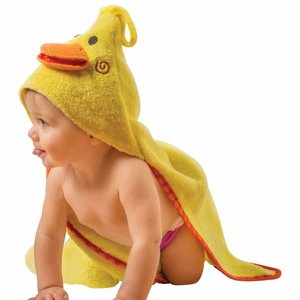 Zoocchini Baby badcape - Puddles the Duck