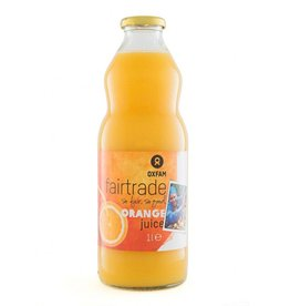 Oxfam Fairtrade Orange Juice - 6 x 1 L