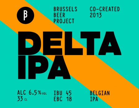 DELTA IPA - 4 x 33cl BRUSSELS BEER PROJECT