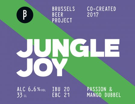 JUNGLE JOY - 4 x 33cl BRUSSELS BEER PROJECT