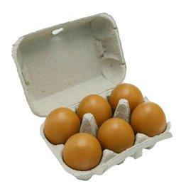 6 BIO farm eggs (zero waste)