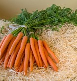 Carrots with leaves (per bunch)