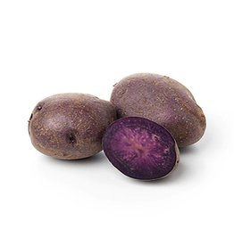 Potatoes Vitelotte (purple) (per 100 gram)