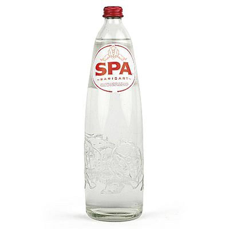 Spa sparkling water - 6 x 1 L